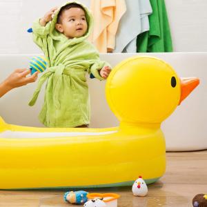 $9.58Munchkin 充气大黄鸭塑胶浴盆 让宝宝更爱洗澡