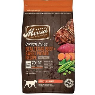 低至7.5折 + 订阅9.5折Merrick 宠物粮食促销热卖