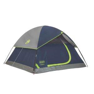 $46.78(原价$63.99)Coleman 圆顶户外露营帐篷