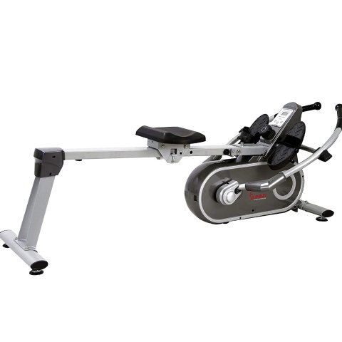 Amazon.com: Sunny Health & Fitness SF-RW5624 Full Motion Magnetic Rowing Machine Rower w/LCD Monitor