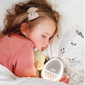 8折起 $29.99起限今天:dreamegg 助眠白噪音仪特价 放松精神  一晚好梦