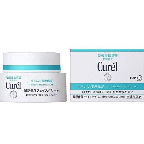 返40%积分 相当于6折 Curel 浸润保湿 敏感肌 面霜 40g