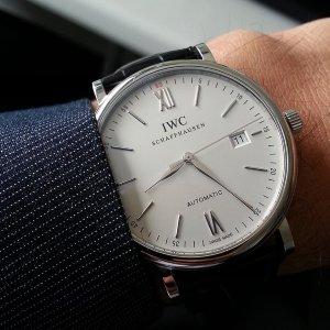 $3640IWC Portofino Automatic Silver Dial Men's Watch No. IW356501
