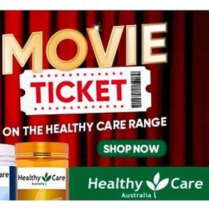 低至5折 超多选择Healthy Care 系列产品热卖+满$30送电影票