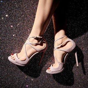 低至5折!何穗爱鞋Lancer £315带回家手慢无:Jimmy Choo年中Lancer经典系列大促 收女人味爆棚仙女鞋