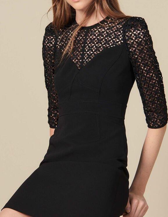 蕾丝小黑裙