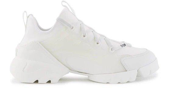 D-Connect 白色运动鞋