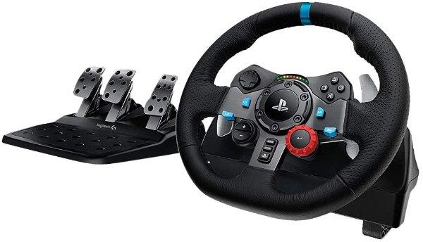 Logitech G29 方向盘 + 踏板, PS4/PC 均适配