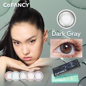 无门槛7.9折 满额最高6折独家:CoFANCY 美瞳大促 轻混血、素颜款美瞳都有