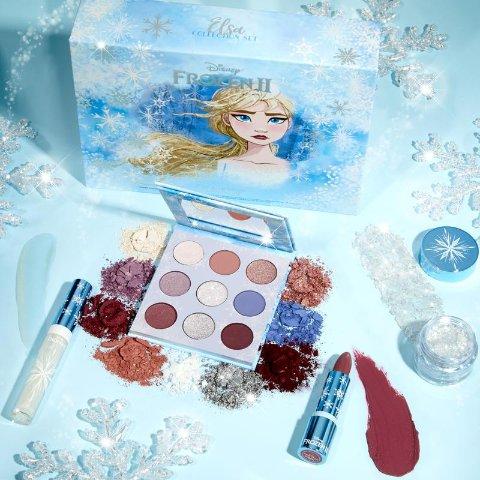 无门槛7.5折 €6收唇蜜Colourpop X Disney 迪士尼联名彩妆闪促 €26收艾莎公主套装