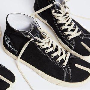 2.1折起 £136就收德训鞋Maison Margiela 超强清仓价 分趾鞋、德训鞋超低价补货
