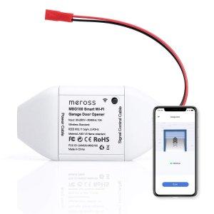 $38.49 meross Smart Wi-Fi Garage Door Opener Remote
