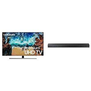 """Samsung UN55NU8000 55"""" 4K Smart TV + Soundbar"""