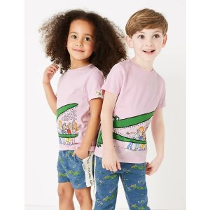 Roald Dahl™ & NHM™ Crocodile T-Shirt (2-7 Yrs)