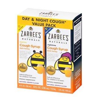 额外8折 低至$3.57史低价:Zarbee's Naturals 婴幼儿止咳糖浆,综合维生素特卖