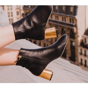 Repetto黑色裸靴