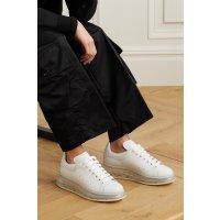 Alexander McQueen  透明底小白鞋