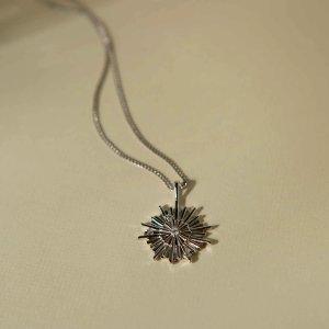 Astrid & Miyu银星星项链