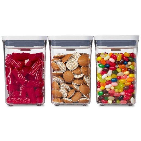 密封食品保鲜罐3件套