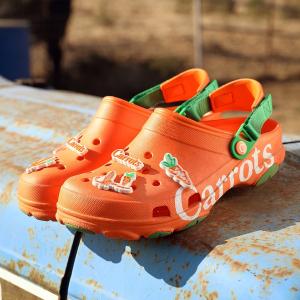 无门槛7折 加绒款$34Crocs 大促开场 精选鞋履配件 小黄人洞洞鞋$24