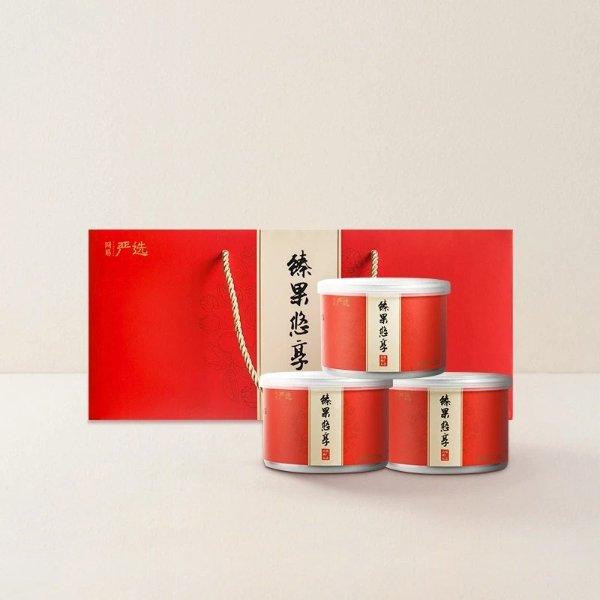 【中国直邮】臻果悠享山核桃仁礼盒 354克(3罐)