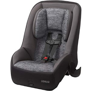 Cosco Mighty Fit 65 DX Convertible Car Seat Heather Onyx Gray Amazon