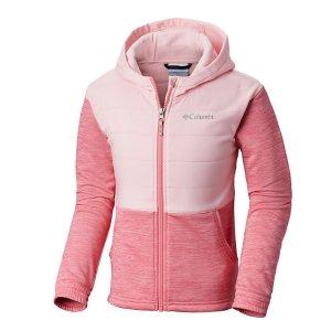 低至3.5折+会员包邮Columbia官网儿童户外服饰精选促销 收封面粉嫩小外套