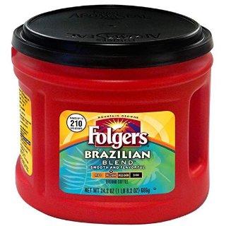 $7.79Folgers 巴西特调咖啡中度烘培 24.2 Ounce装