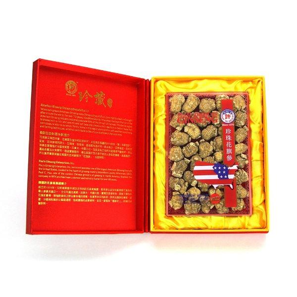珍珠参中号珍藏锦缎礼盒