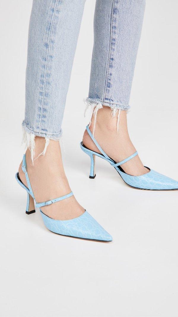 Tiffany蓝凉鞋
