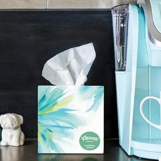 低至7.3折 感冒鼻炎家中常备Kleenex舒洁面巾纸 精选热卖 纸质柔和