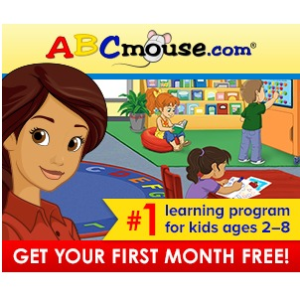 Free 30 day trial@ABCmouse.com