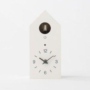Cuckoo Clock S White