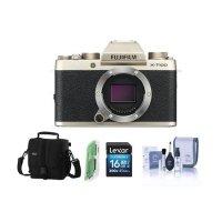 Fujifilm X-T100 无反数码相机机身 金色
