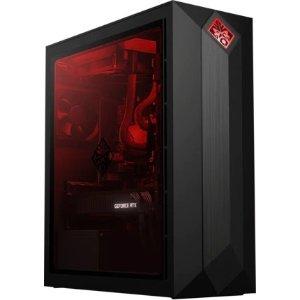 $1804.49 (原价$2304.99)HP OMEN Obelisk 游戏台式机 (i7-9700K,2080Ti,8GB,256GB)