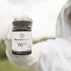 £65收MGO 70 大罐装Manuka Pharm 抗菌蜂蜜 提高日常免疫力 和病毒说不
