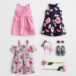 Up to 70% Off+ Extra 20% Off+Free ShippingKids Dresses Sale @ Janie And Jack