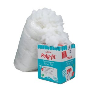 Fairfield 10-Pound Poly-Fil Premium Polyester Fiber, White - Walmart.com