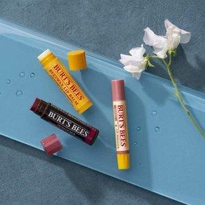 唇膏 £2.5/一支Burt's Bees 小蜜蜂 精选超值护肤产品、唇膏热卖