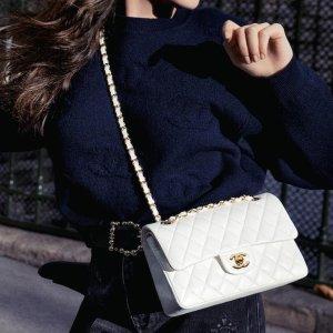 立减$25 LV老花腋下包$1470Simons 大牌Vintage系列 Chanel Flap包$5970 收铂金包