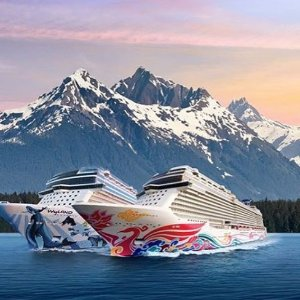 From $579+ 6 Free OffersNorwegian Cruise Alaska Line 7 days+ Sale @ShermansTravel