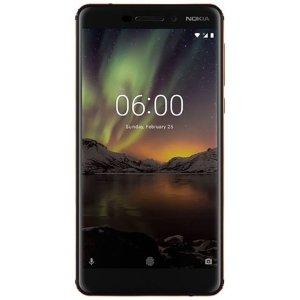 $199.99 (原价$269.99)Nokia 6.1 32GB 无锁智能手机 黑色
