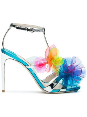 Sophia Webster Jumbo Lilico 100 PVC Sandals  - Farfetch