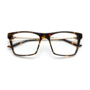 玳瑁方框眼镜