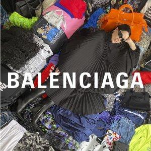 4.5折起 黄金码数量已不多 冲上新:Balenciaga 全线好价 沙漏包、袜子鞋等 斜挎包$700+