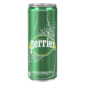 $9.6Perrier Carbonated Mineral Water, Slim Cans, 8.45 Fl Oz (Pack of 30)