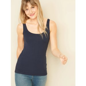 Old NavyFirst-Layer Slim-Fit Rib-Knit Tank Top for Women
