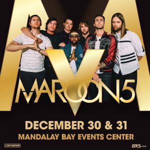 As low as $82Maroon 5 Concert 2019  Las Vegas