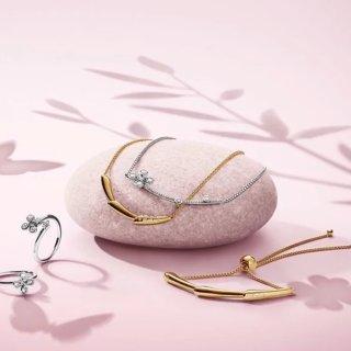 低至5折 封面手镯项链大促补货:PANDORA官网 折扣区精选串珠、戒指、耳饰热卖