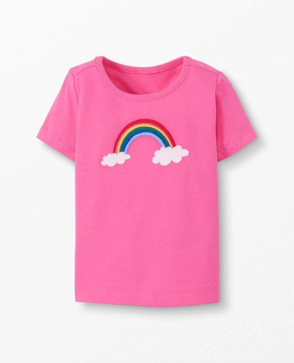 婴儿短袖t恤